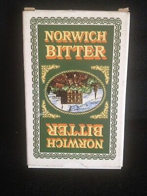 Vintage  Norwich Bitter Playing Cards Unused