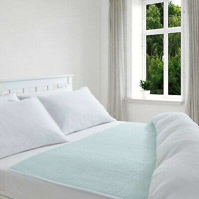 Comfortnights Washable Absorbent Bed Pad 85 x 135 cms With Wings,Double Bed size
