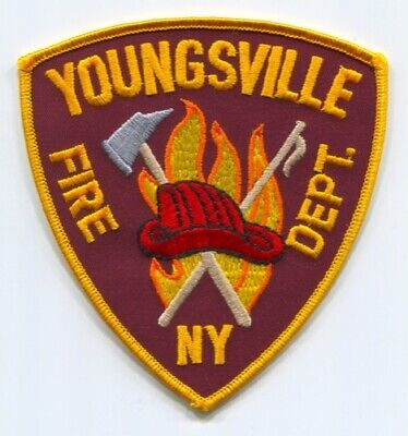 Youngsville Fire Department Patch New York NY