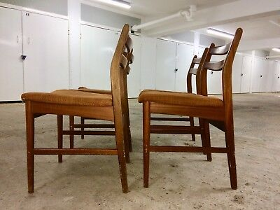 Vintage G-Plan Dining Chairs - Set Of 4. Mid Century. Original