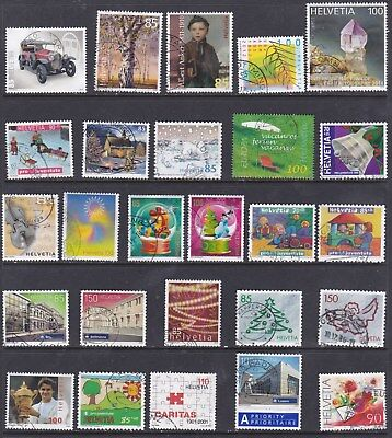 Suiza, Used Stamps, Lote De Sellos Usados