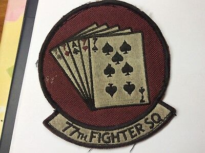 Air Force 77th Fighter Squadron Patch