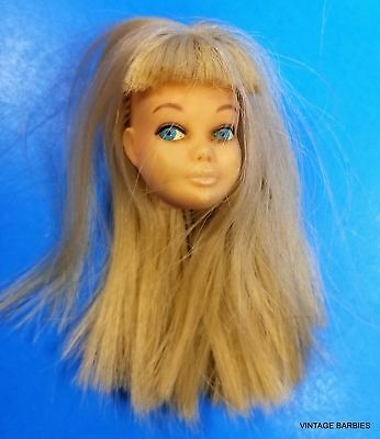 Blond Skipper Doll #95 Head Only Excellent ~ Vintage 1960's