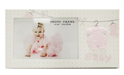 For Arts Sake E7 Baby Girl Pink 4inx6in Photo Frame – Clothes Line HP-WG0370K-46