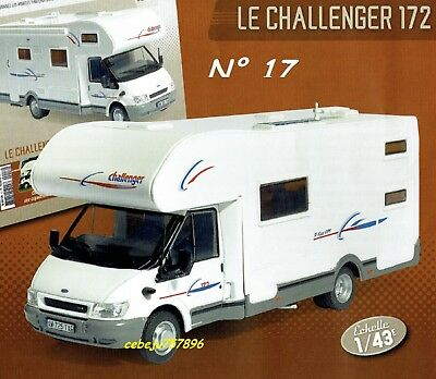 Camping-cars n° 17 - Le Ford Challenger 172 - 1/43°