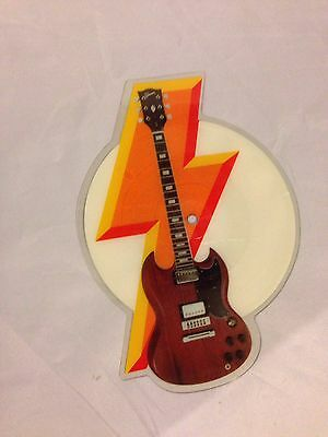 AC/DC Picture Disc: Who Made Who Guitar Shape