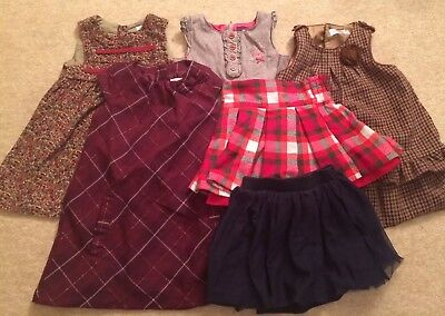 Girls Winter Dresses and Skirts Bundle 2-3 Years