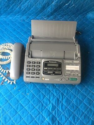 Panasonic Telephone Answering System With Fax Model No. Kx-F880