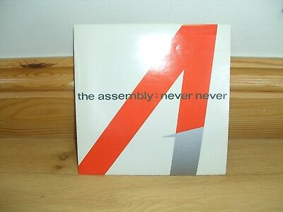 """The Assembly NEVER NEVER 7"""" single (EXCELLENT CONDITION)"""