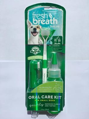 Tropiclean Fresh Breath Puppy Oral Hygiene Teeth Clean Water Tooth Brush Gel
