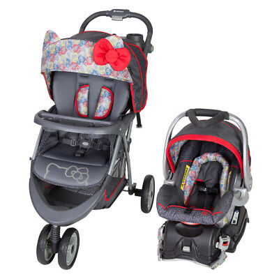 New Baby Trend EZ Ride 5 Travel System - Hello Kitty Expressions Child Stroller