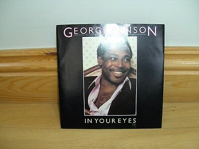 """George Benson IN YOUR EYES 7"""" single (EXCELLENT CONDITION)"""