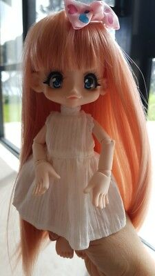 1/6 BJD SD Volks Kinoko Juice Cute smile face and Oh Face jointed dollrecast
