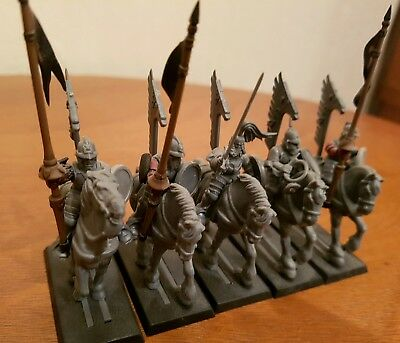 Warhammer empire kislev winged lancers x5 well converted