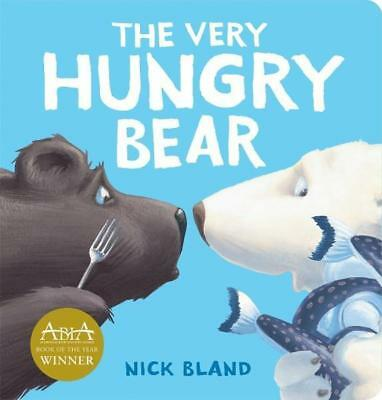 NEW The Very Hungry Bear By Nick Bland Board Book Free Shipping