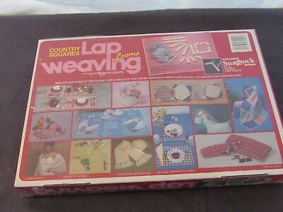 Love & Money Country Square SnapLock Lap Weaving Loom Kit # 60090 Unopened New