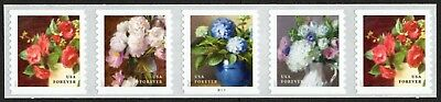USA PNC5 Sc. 5236a (49c) Flowers from the Garden B1111 2017 MNH