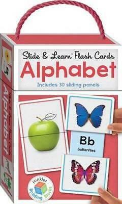NEW Slide and Learn Flashcards Alphabet Card or Card Deck Free Shipping