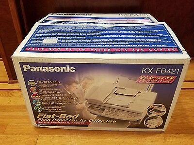 Panasonic KX-FB421 Flat -Bed Plain Paper Fax & Copier