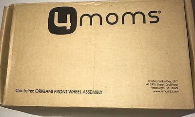4MOMS Baby Stroller Origami Replacement Front Wheels …NEW