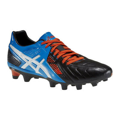 Asics Lethal Stats 3 SK Rugby Boots Synthetic Material - Black/Blue - UK 7