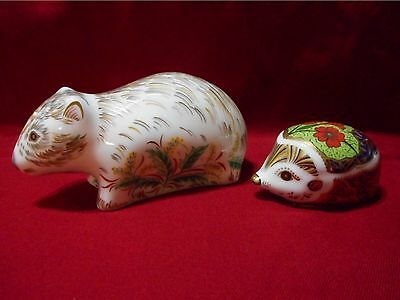 Royal Crown Derby Echidna & Wombat - Limited Editions - 300 each - Australiana
