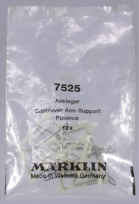Marklin HO #7525 Cantilever Arm - Unopened Package 10 Pieces - New