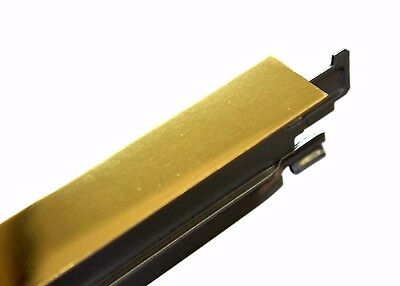 Gold Perimeter Wall Angle Trim 3000mm - 3 Meter Long, Suspended Ceiling Grid