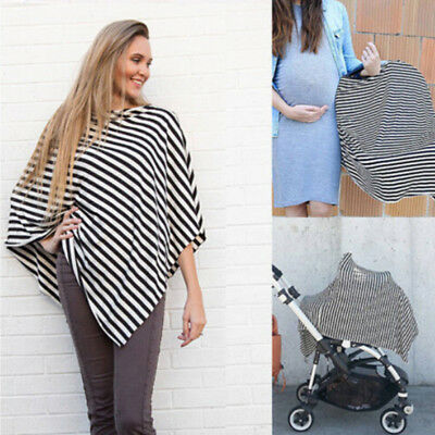 US Stock Nursing Scarf Cover Up Apron for Breastfeeding & Baby Car Seat Canopy