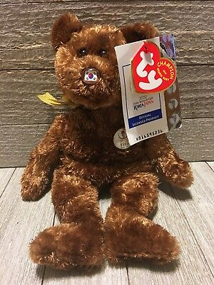 Ty Beanie Babies CHAMPION BEAR Plush 2002 FIFA World Cup Soccer Korea Japan MWMT