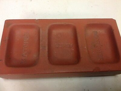 C.Edwards ,Ruabon ,Welsh Quarry advertising brick/ashtray,