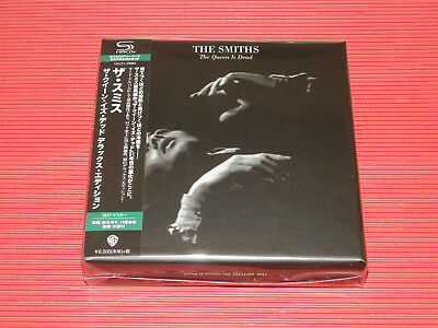 2017 THE SMITHS The Queen Is Dead Deluxe Edition JAPAN ONLY 3 SHM CD + DVD BOX