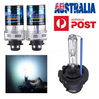 2X 35W D2S/D2C Xenon White Car Replacement HID Headlight Light Bulbs 8000K