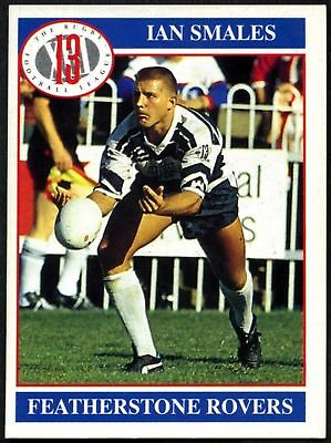 Ian Smales #36 Featherstone Rovers Merlin Rugby Football League 1991 Card (C599)