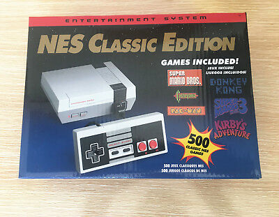 NES CLASSIC EDITION with 500 Games Mini Console US Version 2 Controller