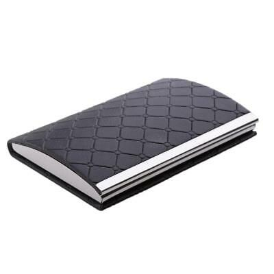 Pu Men And Women Card Holder Pocket For Business Card Id Credit Card Black