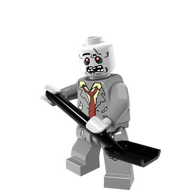 Scary Grave Digging Zombie Lego Minifigure, Horror Themed - Brand New & Sealed