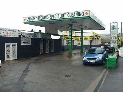 Drive-In Laundry, Dry Cleaners, Repair & Alterations  HAND CAR WASH - PRIME SITE