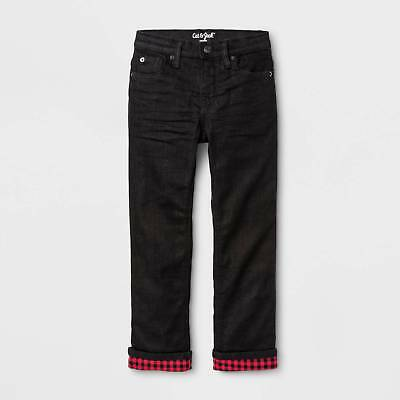 Boys' Flannel-Lined Denim Jeans - Cat & Jack™