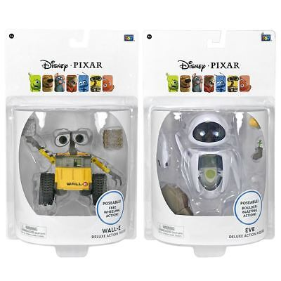 New PIXAR WALL-E Cube & Stack Or EVE Search & Protect Deluxe Figure Official
