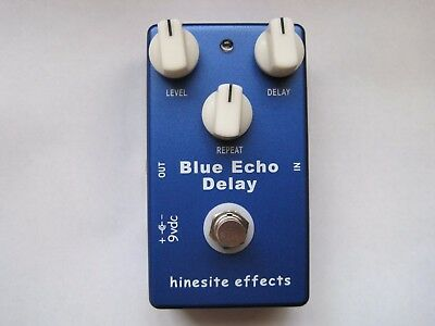 Blue Echo Delay Pedal by Hinesite Effects (Mad Professor Clone)