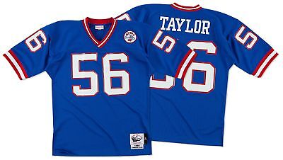 Lawrence Taylor New York Giants Mitchell   Ness Authentic 1986 Blue NFL  Jersey bef14b517