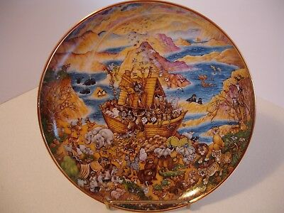 Franklin Mint Two By Two by Bill Bell Porcelain Plate - Limited Edition