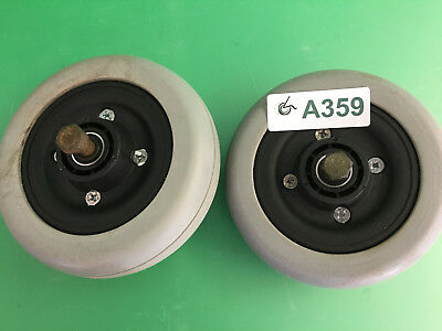 Invacare  Caster Wheels & Tires for Pronto Sure Step M51  ~set of 2~  #A359