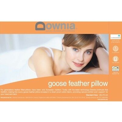 NEW Downia Goose Feather Pillow from Right Buy