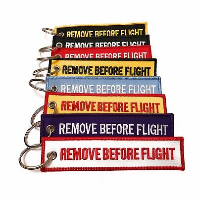 Remove Before Flight Keychain | Luggage Tag | High Quality | aviamart®