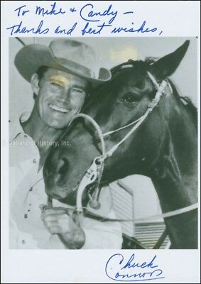 Chuck Connors - Inscribed Photograph Signed