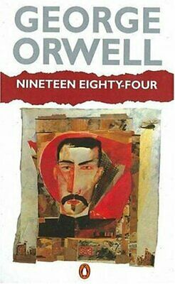 Nineteen Eighty-Four by Orwell, George Paperback Book The Fast Free Shipping