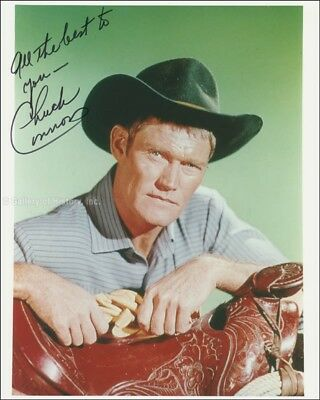 Chuck Connors - Photograph Signed