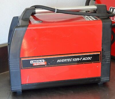 Lincoln Invertec V205-T AC TIG Welder--PROFESSIONALLY REFURBISHED